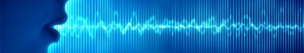 Mikrofonen omvandlar ljudvågor till elektriska vågor.