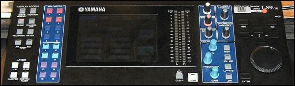 mixerbordet ljudutrustning