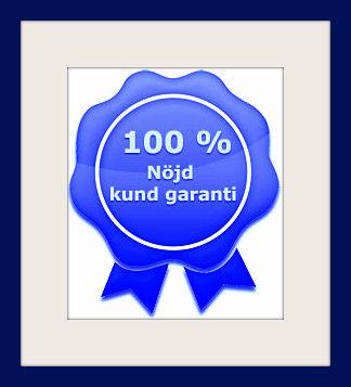 100% Nöjdhetsgaranti på mixerbord-webbkursen.