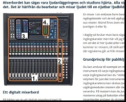 Mixerbord Basic - Steg 1 Lektion 1