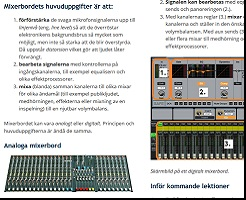 Mixerbord Basic Steg 1 Lektion 2