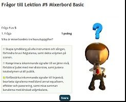 Mixerbord Basic Steg 1 Lektion 5