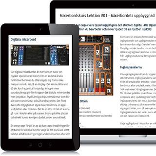 Ljudteknikerns Webbkurser