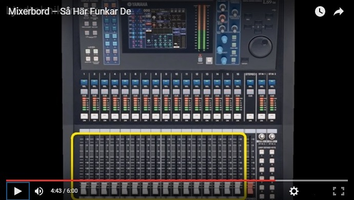 Digitalt Mixerbord
