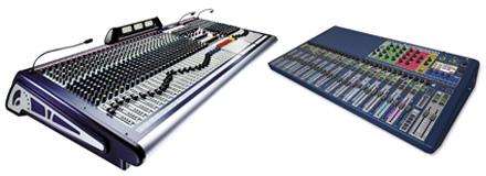 Fördel 3 med digitala mixerbord.