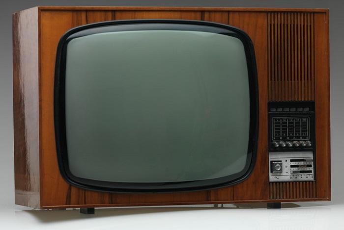 Trasig tjock-tv