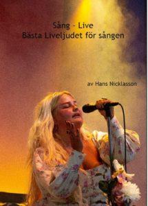 Sång live - Bästa liveljudet för sången, e-bok, omslag